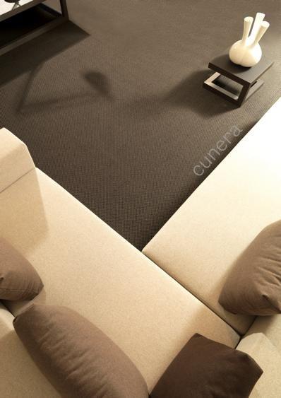 Luca #Cunera  Kamerbreed, karpetten, tegels, lopers, traplopers en matten: #Cunera levert u zowel in design als in kwaliteit verantwoorde vloerbedekking op natuurlijke basis. De toegepaste materialen zijn wol, sisal, cocos, zeegras, bamboe en als afwerkingsmaterialen leder, jute, katoen en linnen.