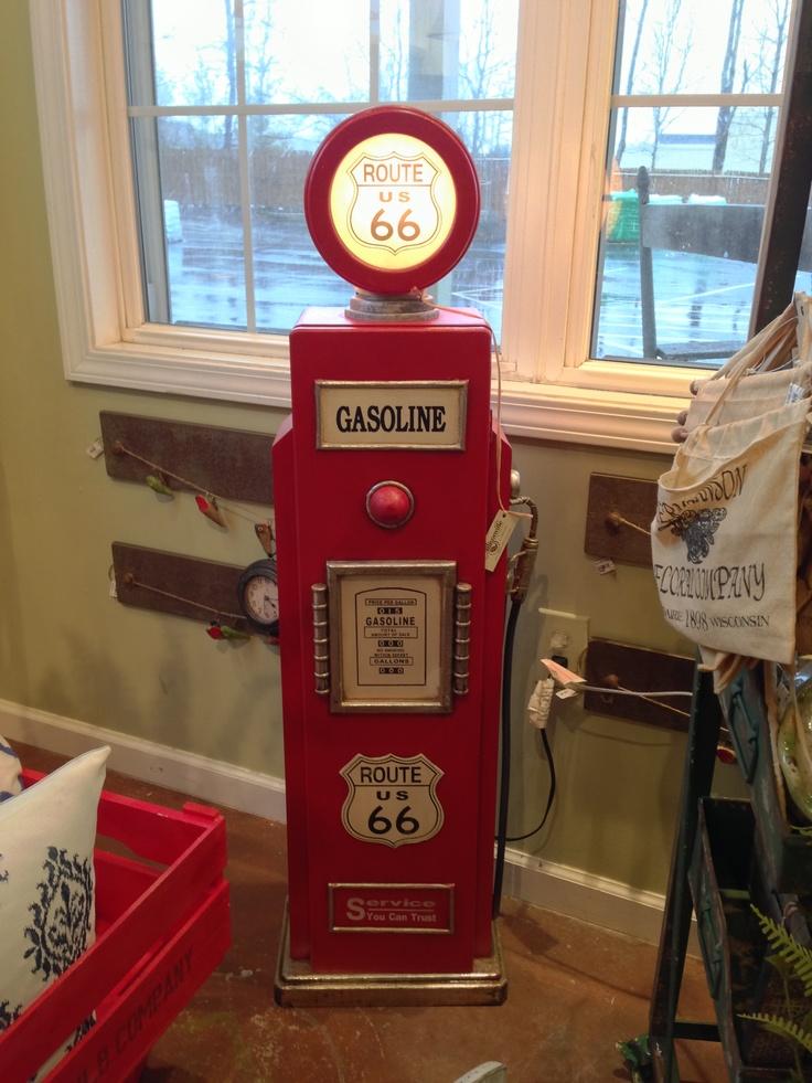 Antique gas pump Home Decor Pinterest Gas pumps