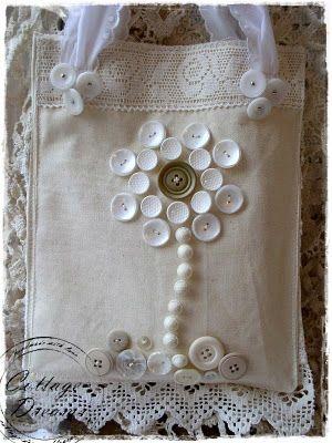 ~ Buttons, Linen & Lace ~