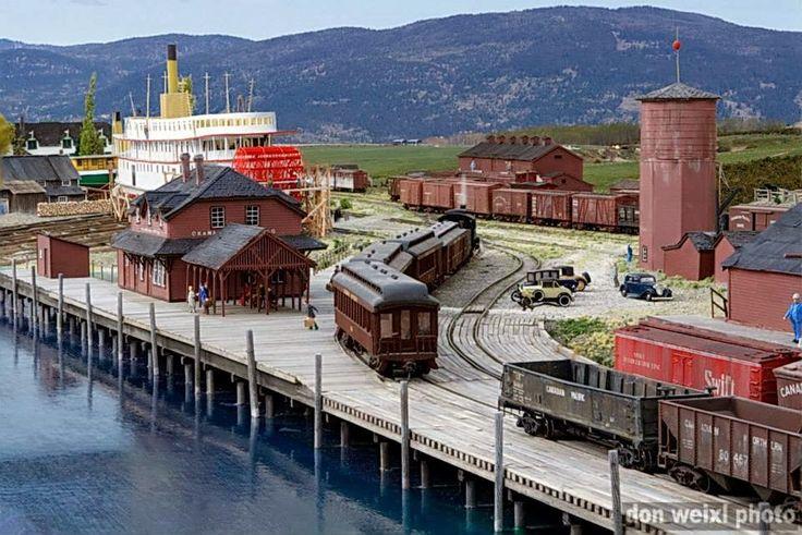 Great Canadian Model Railroad (Diorama Division): Okanagan Landing ...