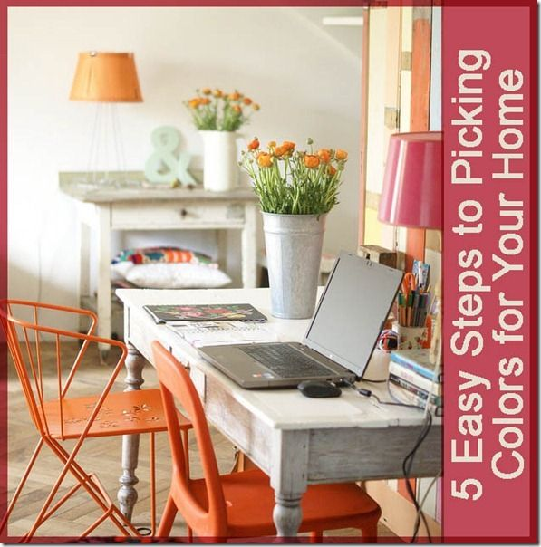 5 easy steps to picking color for your home @Remodelaholic