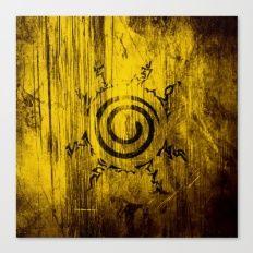 Naruto Seal Canvas Print