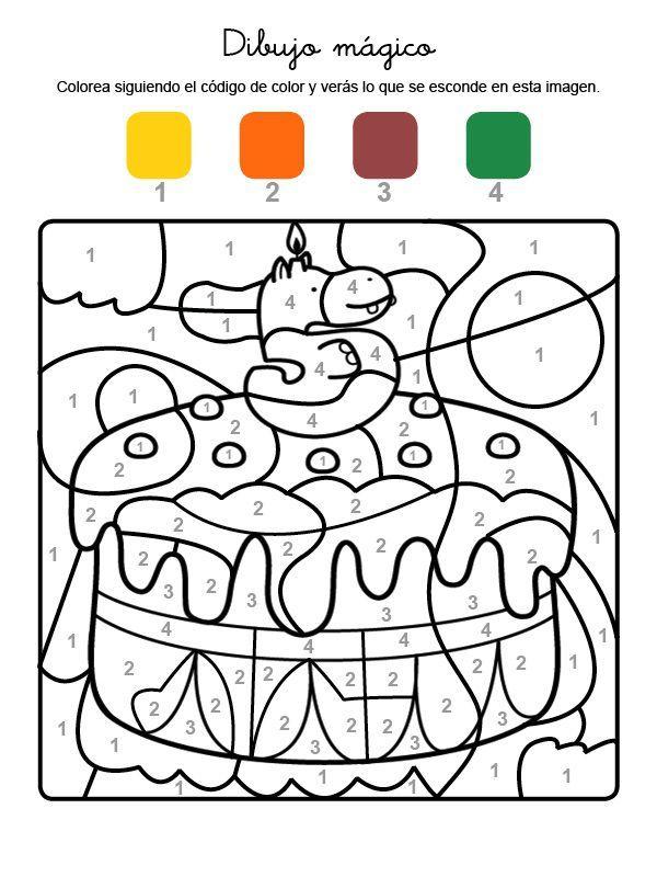 Es Muy Fasil Dibujos Para Colorear Colorear Por Numeros Dibujos