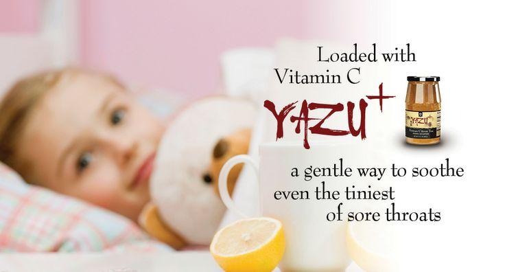 Delicious, soothing Yazu+ Citron Tea.