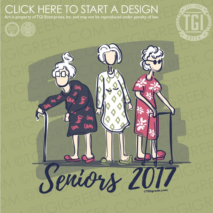 Delta Delta Delta | Tri Delta | ΔΔΔ | Seniors | Sorority Senior Shirt |TGI Greek | Greek Apparel | Custom Apparel | Sorority Tee Shirts | Sorority T-shirts | Custom T-Shirts