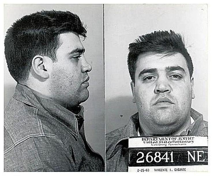Mafia Mug Shots: Vincent Gigante