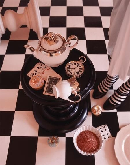 Alice in Wonderland inspired tea party!