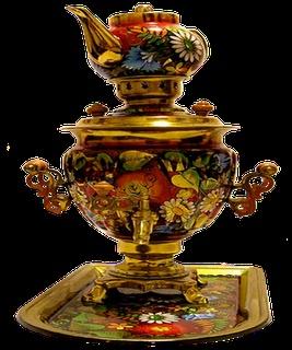 O Samovar é uma ferramenta utilizada tanto para ferver a água para preparar chá, bem como servir chá, tão apreciado pelos russos. Ele foi introduzido na Rússia por Pedro, o Grande, e um centro industrial, inicialmente, nos Urais, uma região rica em minerais, especialmente cobre e minério de ferro. Mais tarde, a região de Tula (terra Tolstoy) também já está produzindo essa ferramenta, e Tula, em 1850, tinha 128 fábricas, que produziram cerca de 120 mil unidades por ano.