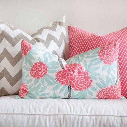 Almofadas + itens de decoração
