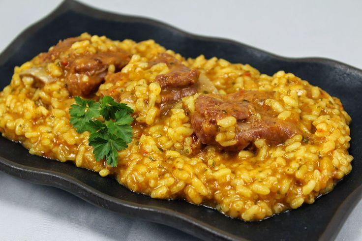Arroz meloso con costillas Blog con recetas sencillas, rápidas y económicas de cocina tradicional realizadas por Ana Sevilla Los Fogones de Ana Sevilla
