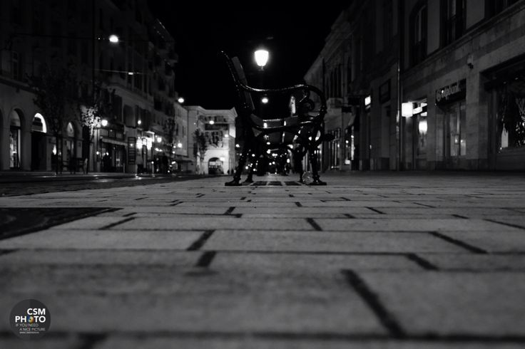 Miskolc at night