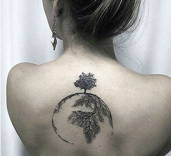 Tattoos And Their Meanings - Tree Of Life would never get it. But what an incredible tattoo