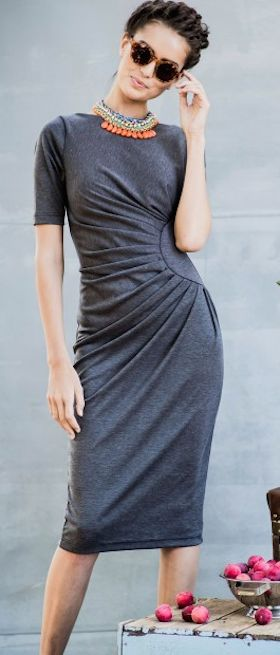 love this jersey knit dress http://rstyle.me/n/iftuzr9te