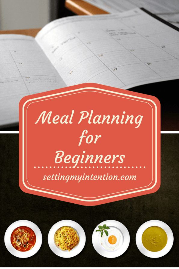 Have you been determined to meal plan, done it for a week or two, and then fallen back into old habits of last minute decisions or fast food? Me too. If you're a meal planning wannabe like me, follow along as I try and slowly develop the habit of meal planning in simple, realistic steps.