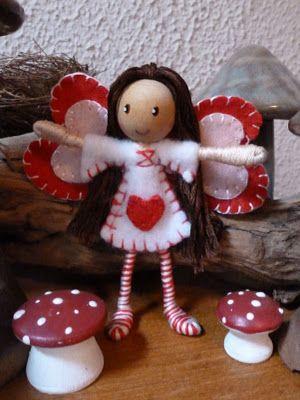 Valentine Bendy Doll