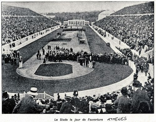 Olympic Games 1906 - opening ceremony | Taken from LE MONDE … | Flickr
