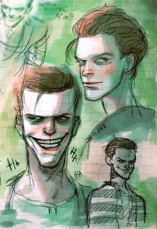 Pin by Always Believe on Art | Gotham joker, Joker drawings