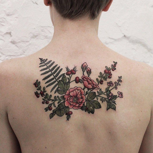 flowers forever, ( this may or may not be real, it is the only pin of a tattoo on my boards)