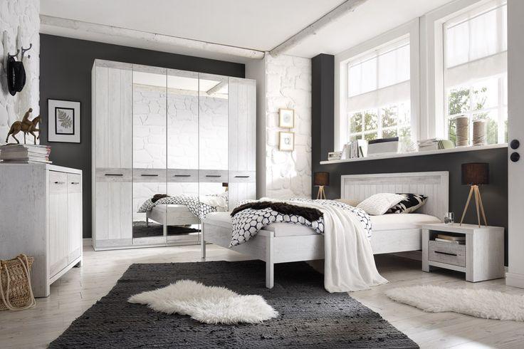 The rich set of bedroom furniture will give exceptional character of you for inside. Provençal style. SALE%%%% Bogaty zestaw mebli sypialnianych nada wyjątkowy charakter Państwa wnętrzu. Styl prowansalski. Promocja%%% #bed #bedroom #provençalstyle #helvetia #mirjan24 #whitefuniture #sale