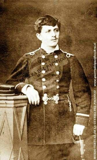 Teniente del Coquimbo José Miguel Cuadra Opazo Ref: Gentileza de su bisnieto don Enrique Cáceres Cuadra, Historiador Militar
