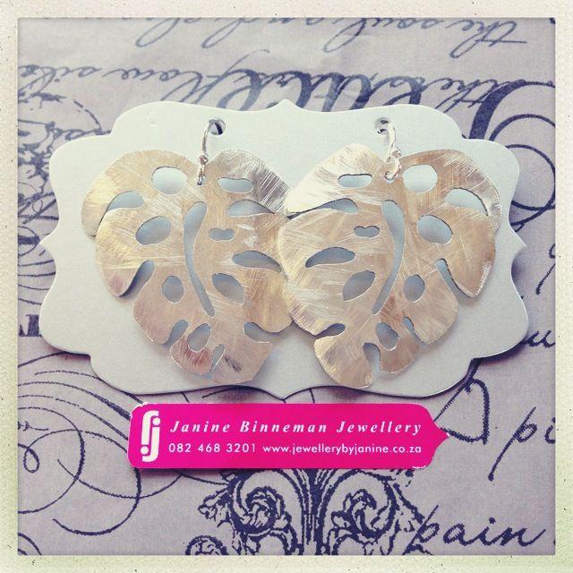 Silver Delicious Monster earrings - Janine Binneman