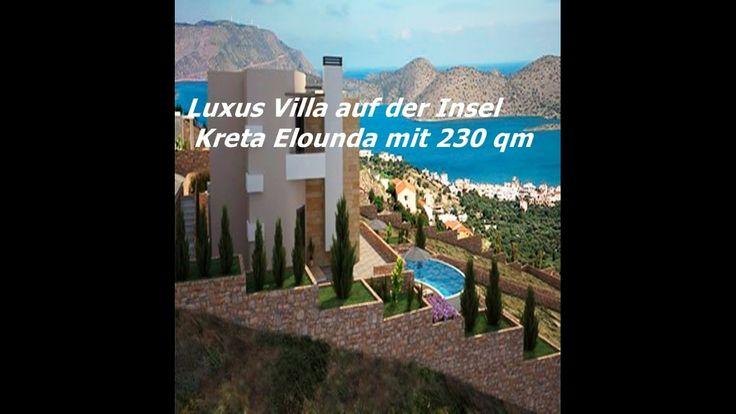 Luxus Villa auf der Insel Kreta Elounda