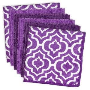 Lattice Microfiber Dishcloth