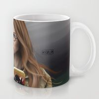 Mug featuring Amelia by Mascmallow