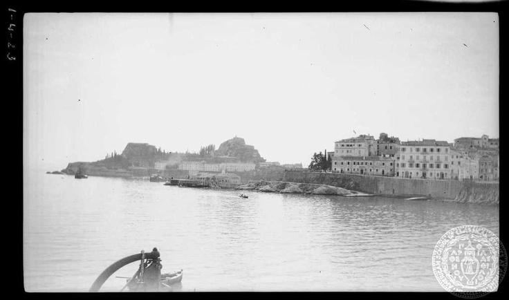 Corfu. Harbor; 1923; Dorothy Burr Thompson.