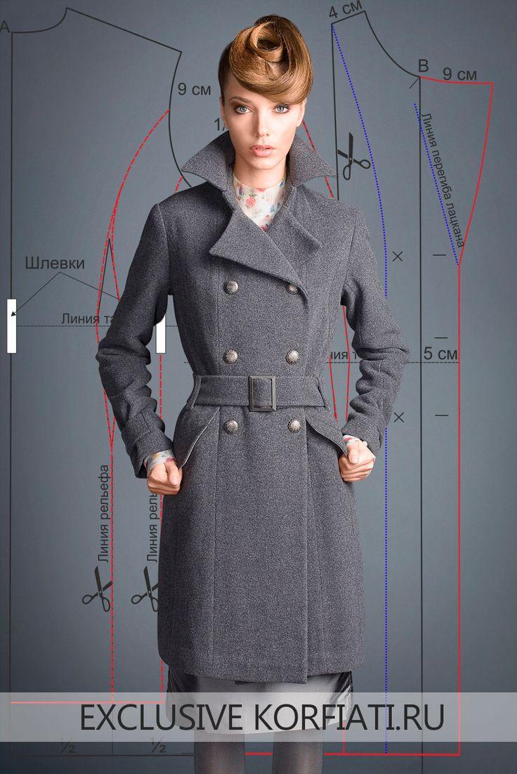 Это шикарное классическое пальто от Gentle Dolls сегодня на пике популярности. Добротное серое сукно надежно защитит вас. Выкройка классического пальто