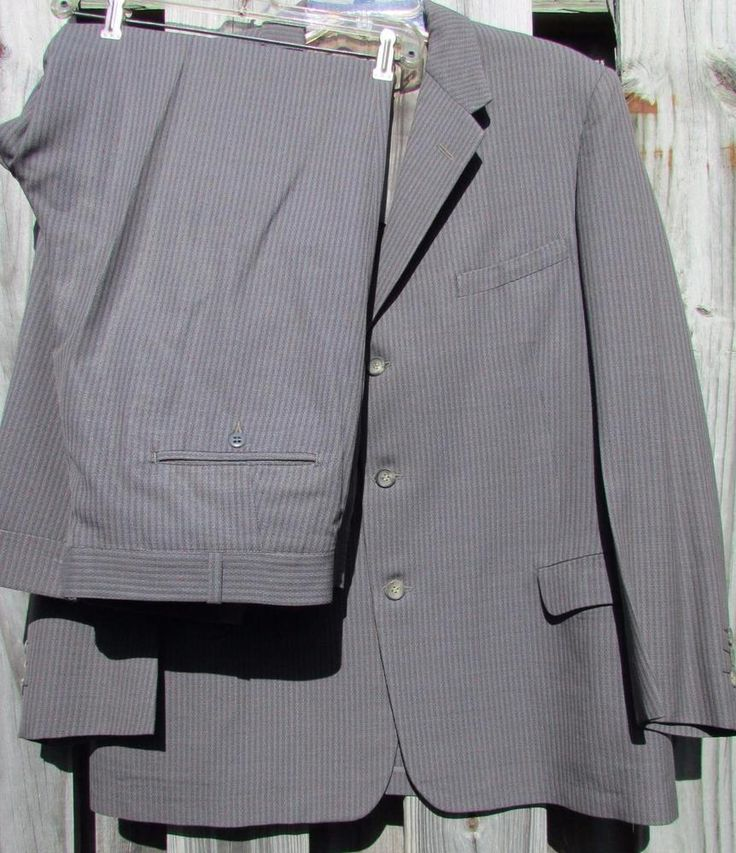 Vtg Tennessee Country  CAS WALKER'S 1956  Button Fly Pants Hipster Jacket Suit