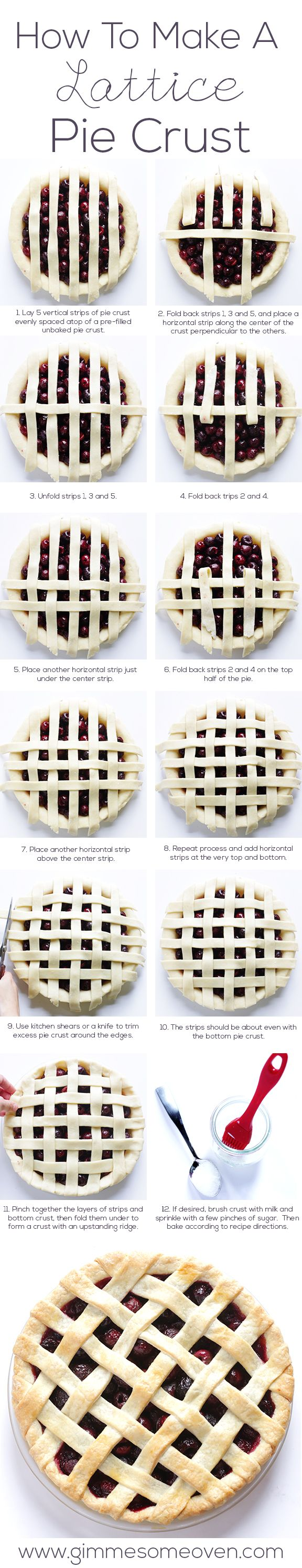 How To Make A Lattice Pie Crust.  Try this classic design with Mr. Wittle's assorted pie fillings in Apple, Blueberry and Strawberry today. Available @CentralMarket @ManyKitchens @RoyPopeGrocery