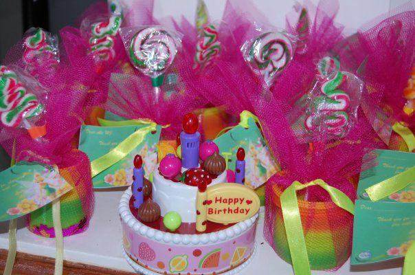 Tinkerbell Themed Birthday souvenirs/give-aways | Kiddie Birthday ...