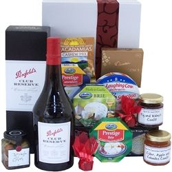 Port and Cheese Gourmet Hamper