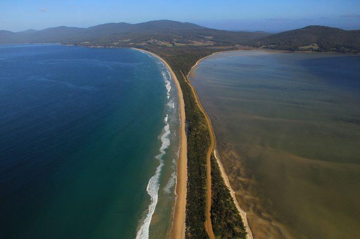 What a way to see the wonderful #BrunyIsland, #Tasmania.