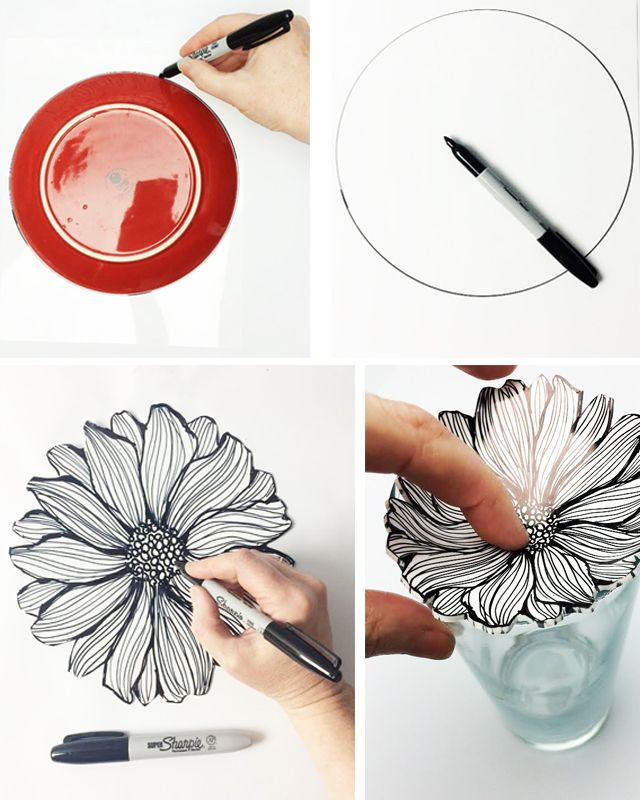 shrink plastic ring bowls | alisaburke | Bloglovin' - could do with patterns or watercolour effect or printed