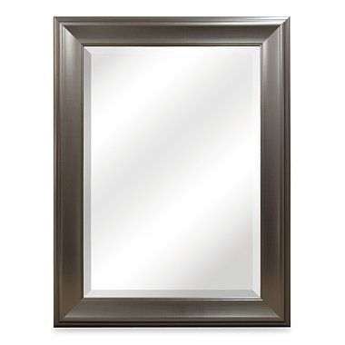 Buy Bryce Brushed Nickel Mirror from Bed Bath & Beyond  22 x 28 - $40