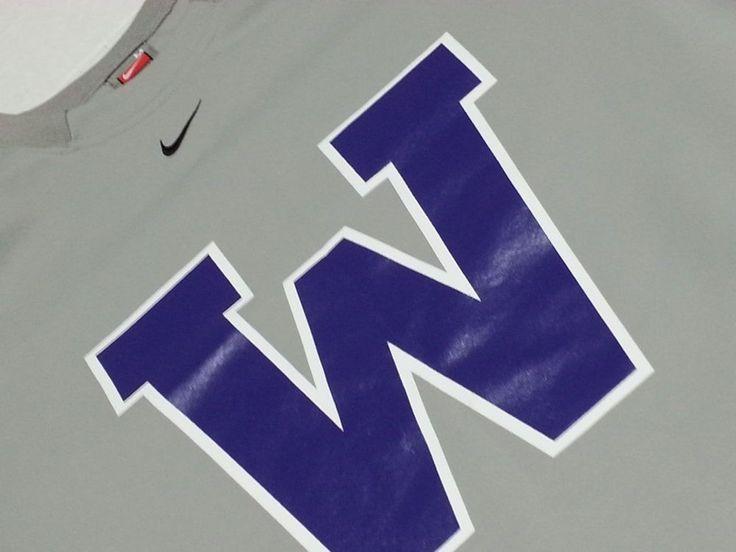 Nike Univeristy of Washington Long Sleeve Polyester Blend Medium Pullover #Nike #ShirtsTops
