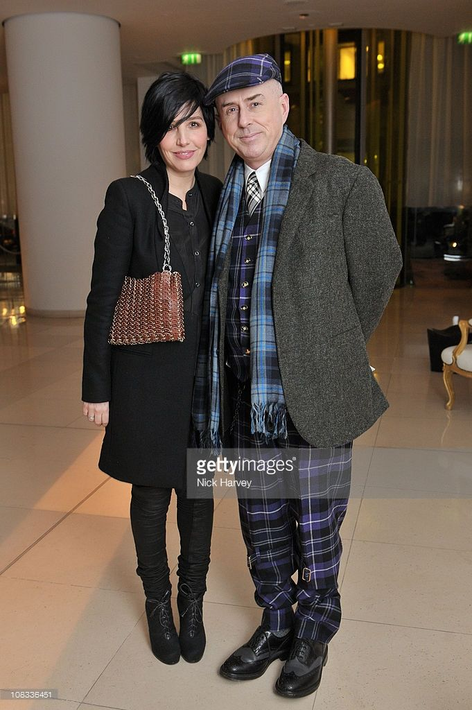Singers Sharleen Spiteri and Holly Johnson attend Burns Night celebrations at St Martins Lane on January 25, 2011 in London, England.