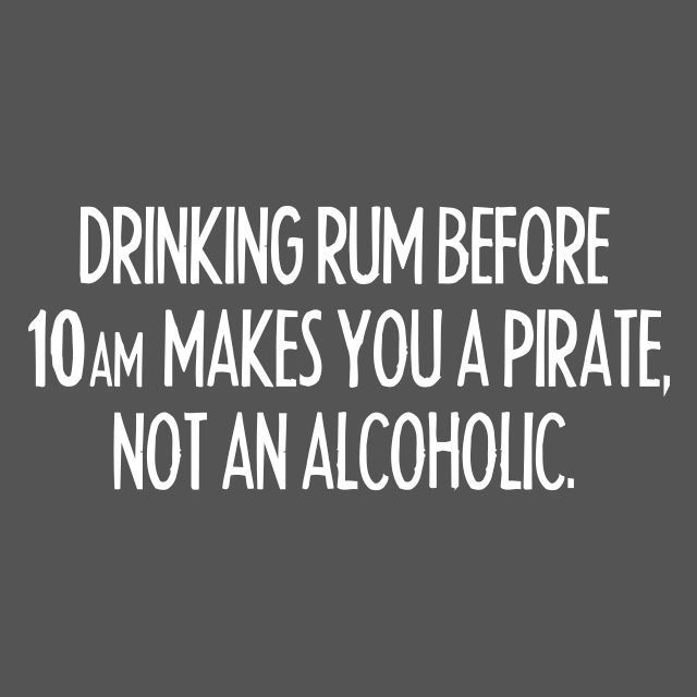 Drinking Rum Funny Pirate Tee Adult Hilarious Partying Humor Novelty T SHIRT #LimpinLarrysTshirts #GraphicTee