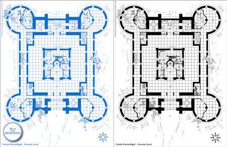 Minecraft Building Blueprints Castle Fhegxkc