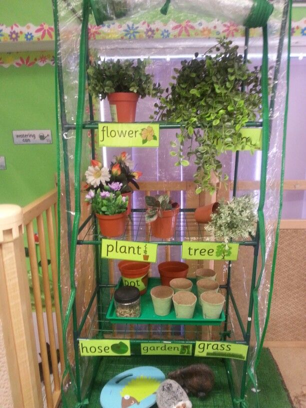 Greenhouse and Garden centre role play