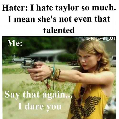 HA! Not talented? She has 7 grammys, SEVEN!!>>> I think it's 10 now, idk I've lost count