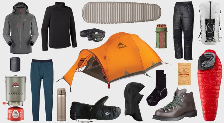 Essentials Winter Camping Gear