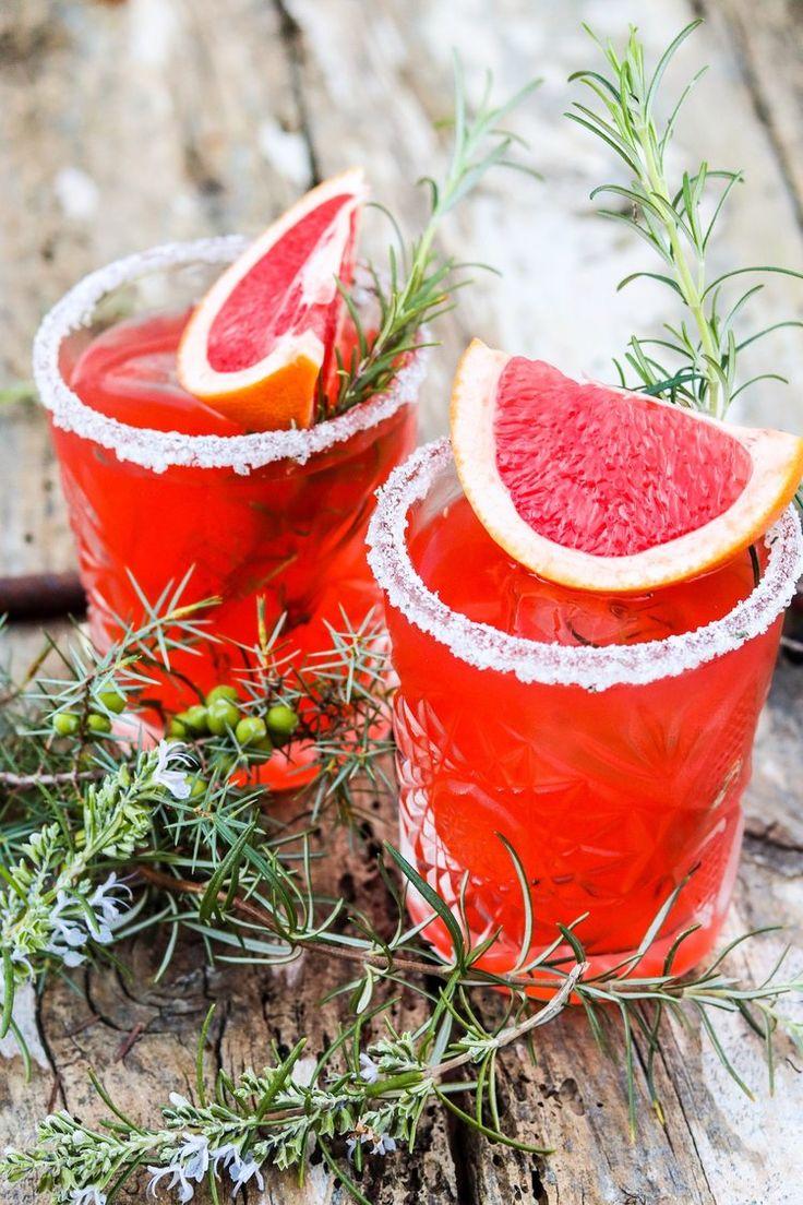 für dein weihnachtsmenü: apero aus gin, grapefruit & rosmarin