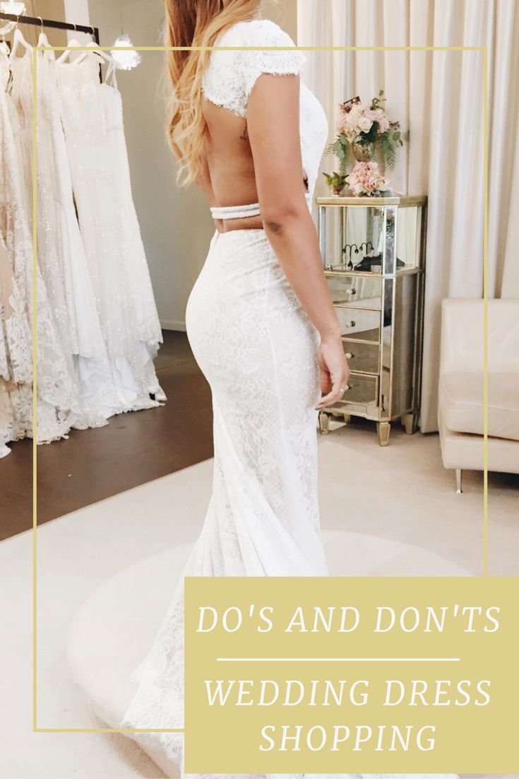 Follow these easy to tips to make wedding dress shopping stress free and fun!