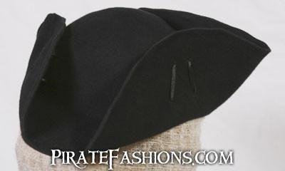 Able Seamen Tricorne Pirate Hat – Pirate Fashions