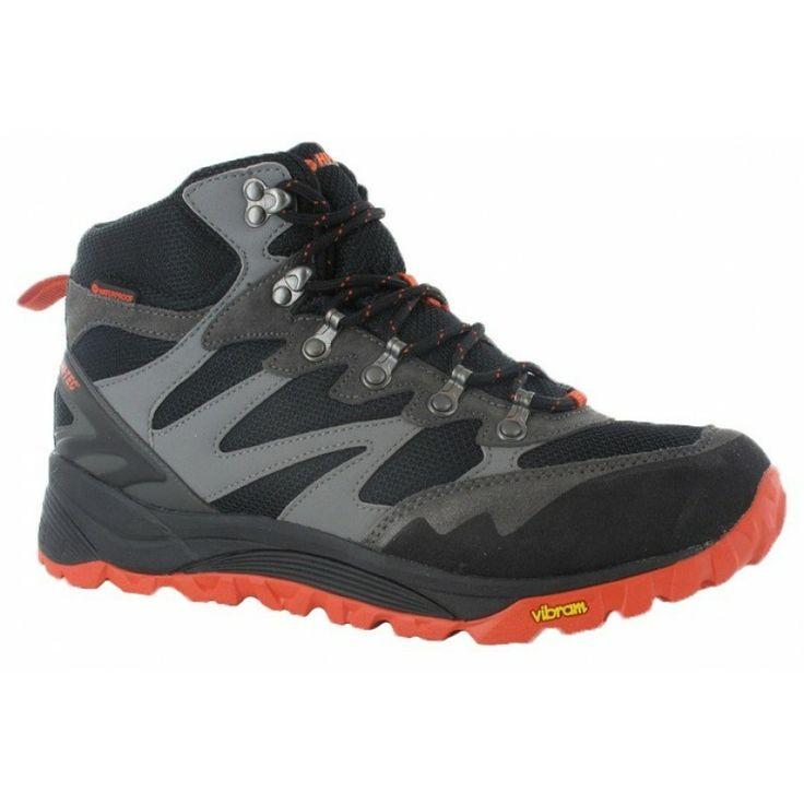 Здрави, леки и комфортни мъжки туристически обувки Hi-Tec V-Lite SpHike Mid WP с водоустойчива дишаща мембрана