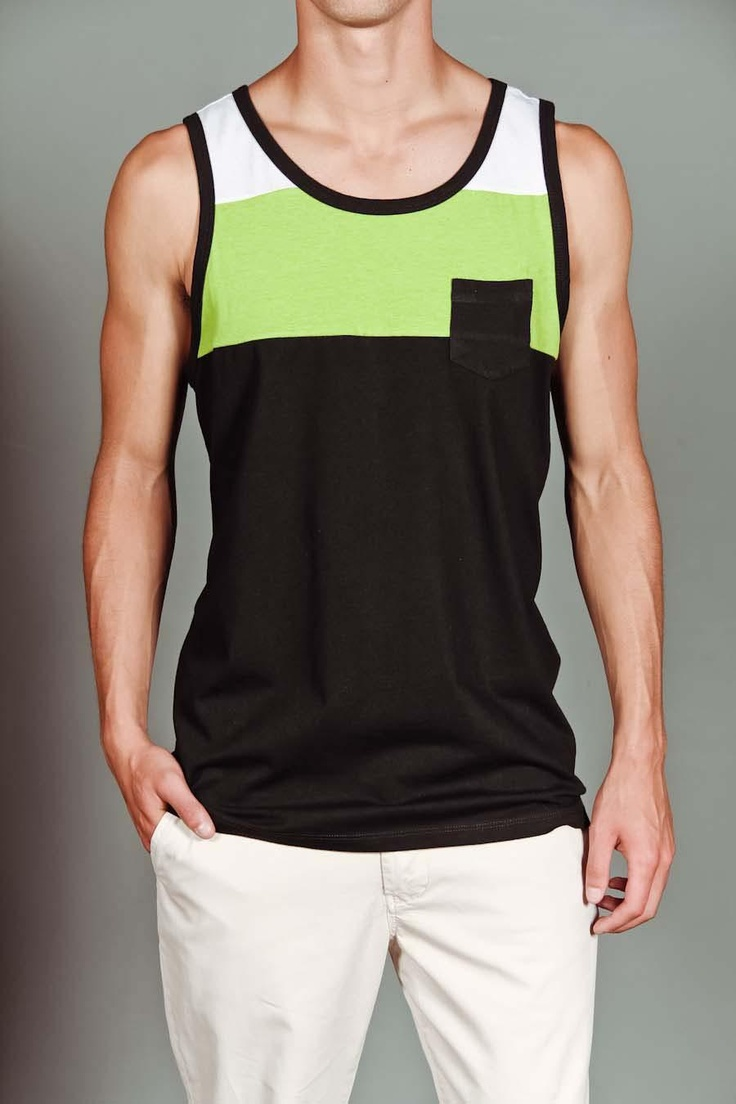 JackThreads - Tank Top With Front Pocket