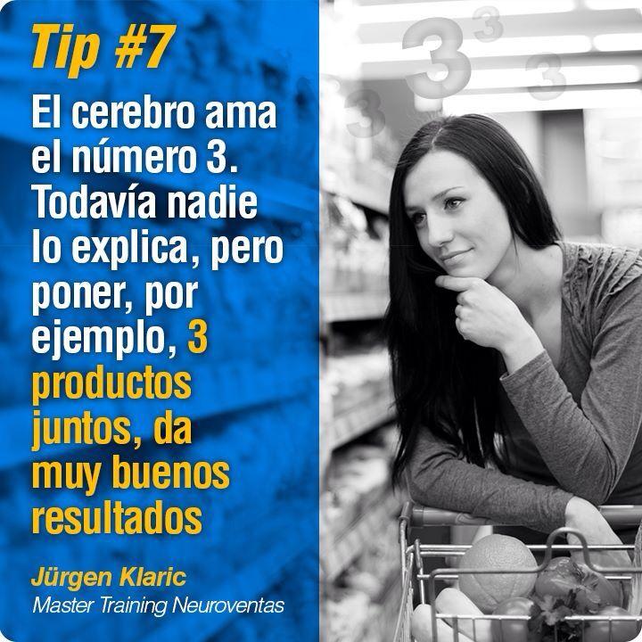No me voy sin dejar su tip: 13 tips de #Neuroventas de Jürgen Klaric.